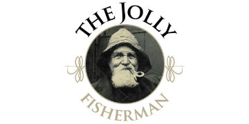 The Jolly Fisherman logo