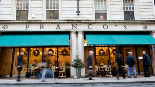 Restaurant Review – Franco's, London – 91%