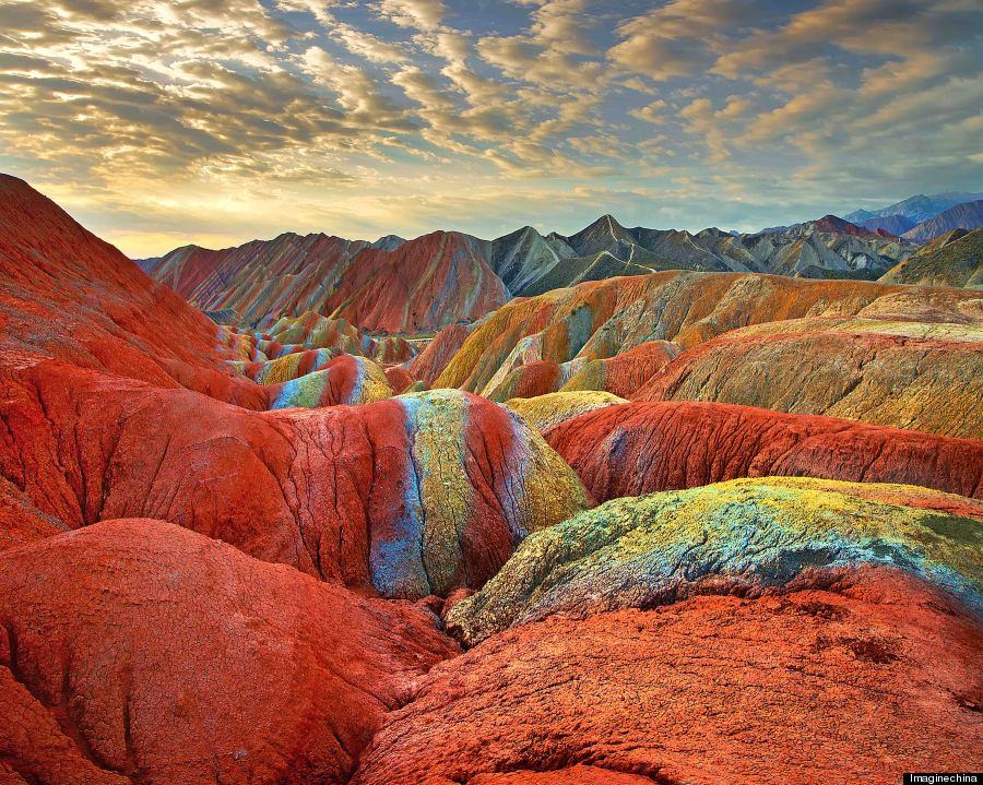 chinese rainbow mountains 2