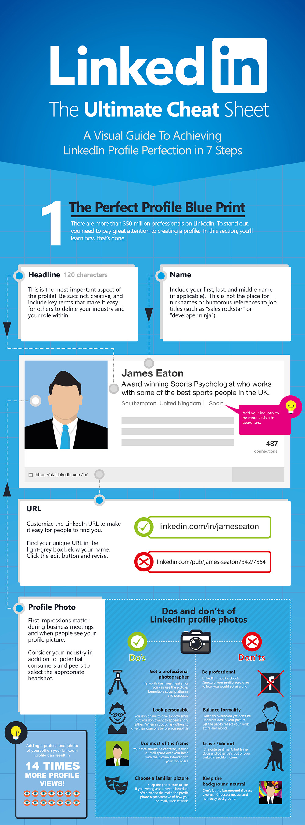 Top of LinkedIn Infographic