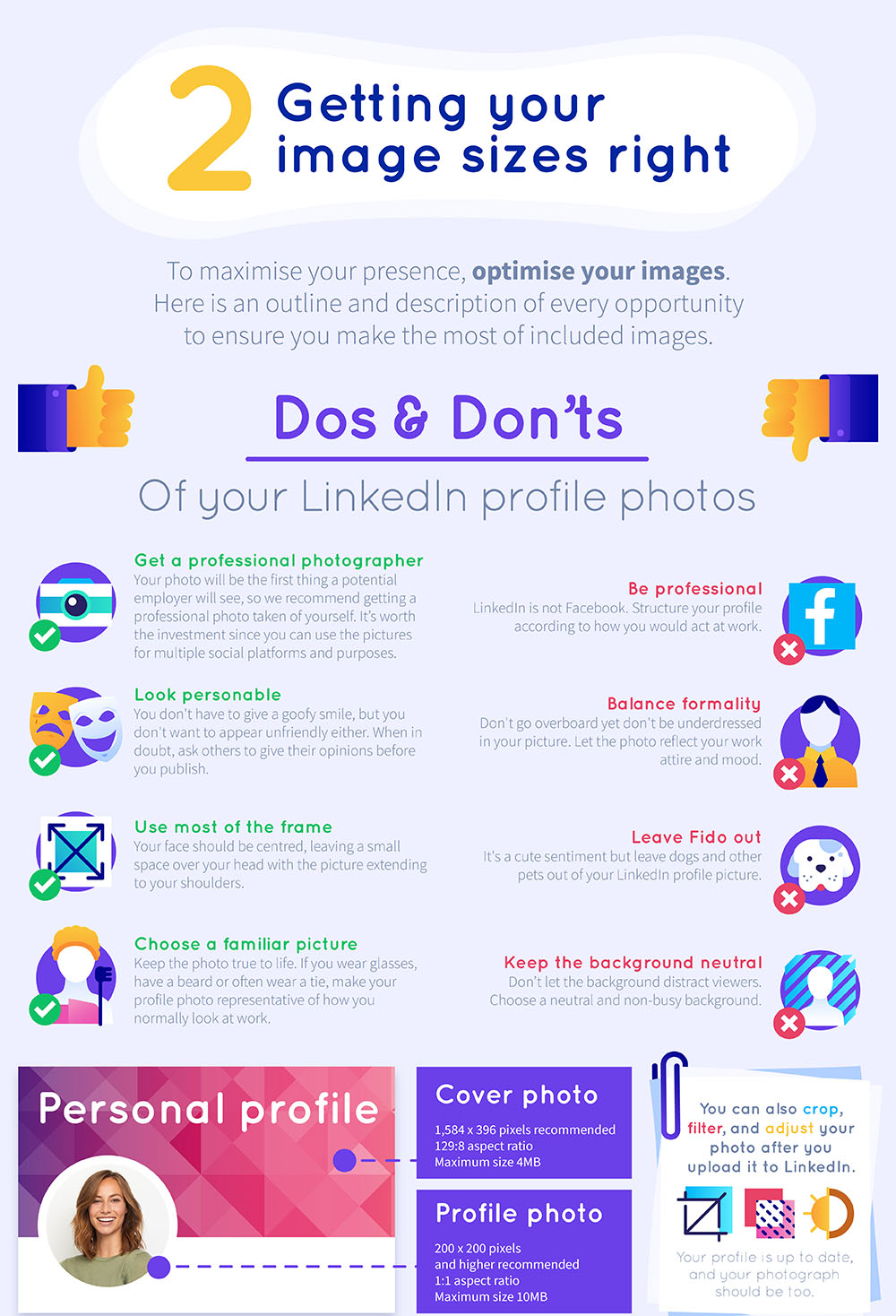 The Ultimate LinkedIn Cheat Sheet 9