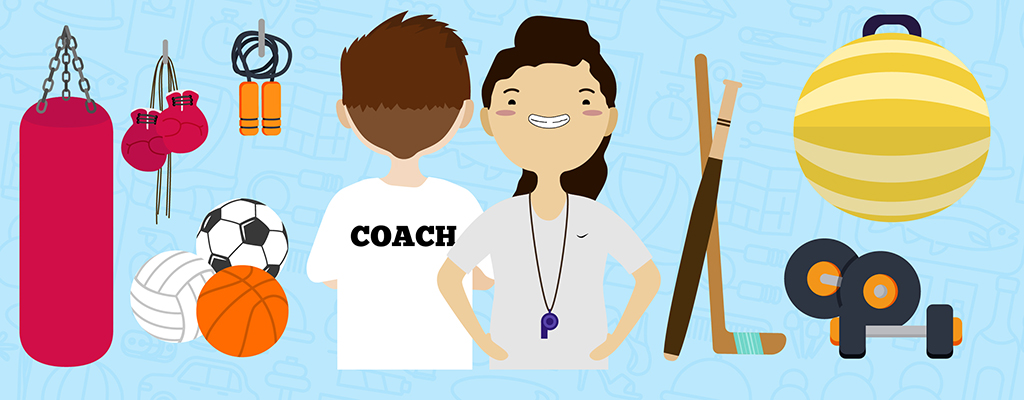 sports coach hero