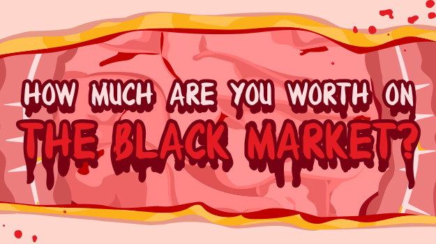 How Much Are You Worth On The Black Market?