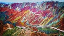 Rainbow Mountains in China, You'll Never Believe Exist!
