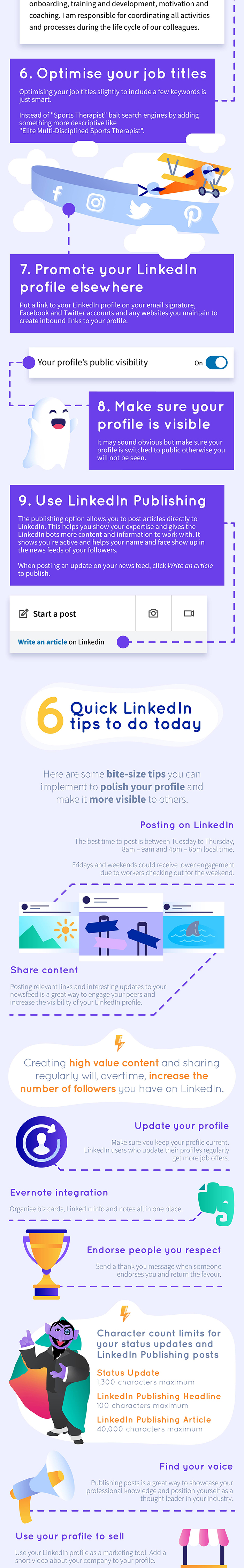 The Ultimate LinkedIn Cheat Sheet mobile 14