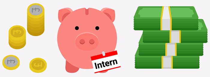internship salary