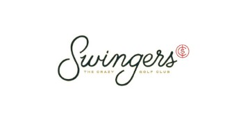 Swingers - the crazy golf club logo
