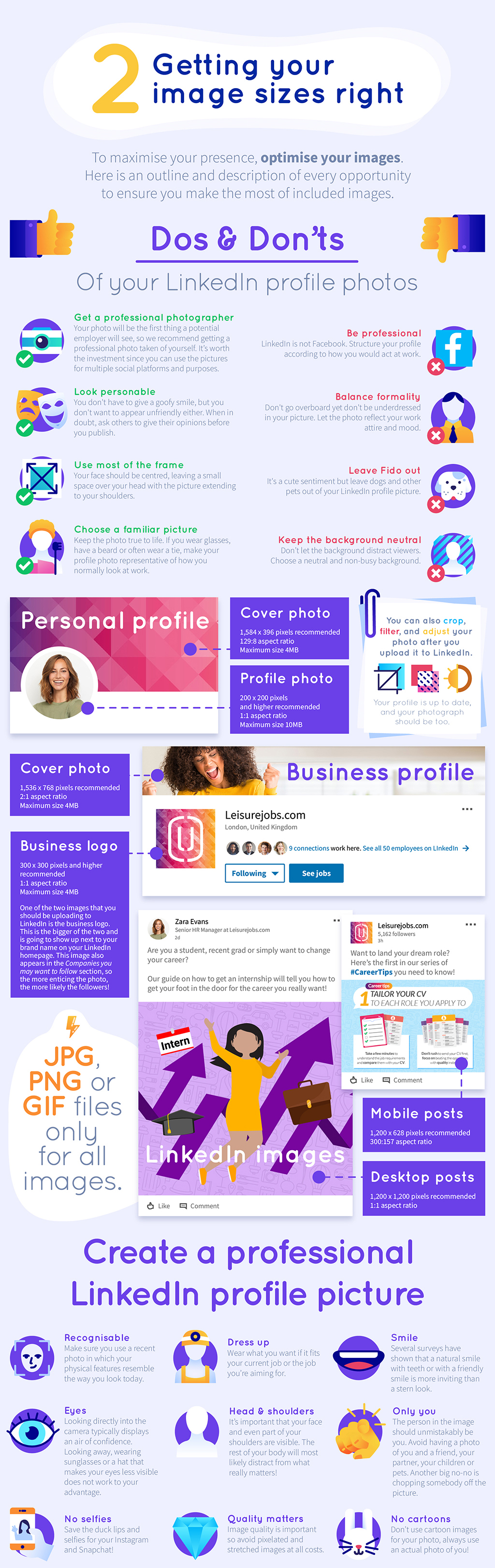 The ultimate Linkedin cheat sheet 2